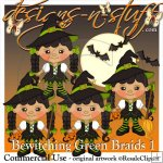 Bewitching Green Braids 1 Resell