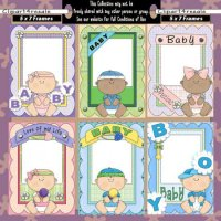 Baby Picture Frames CU