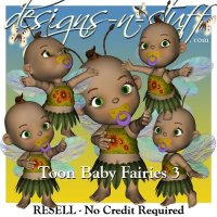 Toon Baby Fairies 3 - Resell