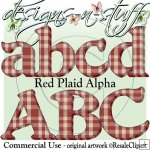 Red Plaid Alpha CU