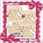 Valentine Bunnies exclusives CU