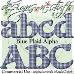 Blue Plaid Alpha CU
