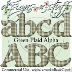 Green Plaid Alpha CU