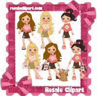 Boutique Girls Pink n Brown 1 CU