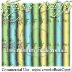 Easter Bunny Backgrounds CU