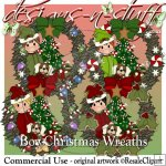 Boy Christmas Wreaths