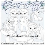 Wonderland Digital Stamps Exclusives 3 & 4