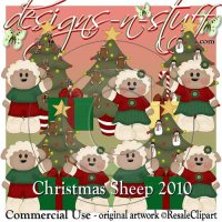 Christmas Sheep 2 CU