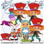 Wonderland Clipart Exclusives 5
