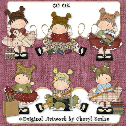 Little Sewing Beauties CU