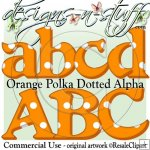 Orange Polka Dotted Alpha CU