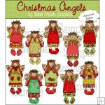 Christmas Angels CU