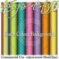 Easter Colour Backgrounds CU