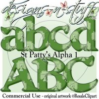 St Patty's 1 Alpha CU