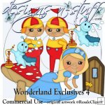 Wonderland Clipart Exclusives 4
