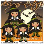 Bewitching Green 1 Resell
