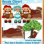 Riding Hood Blonde Clipart Exclusives