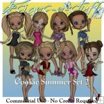 Cookie Poser Summer Set 2 CU