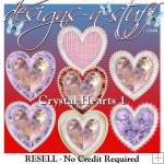 Crystal Hearts 1 - Resell