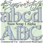 Snow Scrap 1 Alpha CU