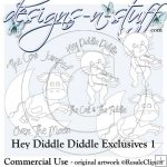 Hey Diddle Diddle Digital Stamps Exclusives 1