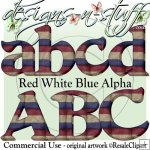 Red White Blue Alpha CU