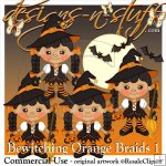 Bewitching Orange Braids 1 Resell