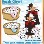 Dalmations Clipart Exclusives 4