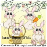 Easter Bunny White CU