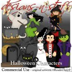 Halloween Characters Resell