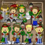 Joy to the World Carolers 1 CU