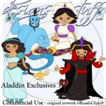 Aladdin Clipart Exclusives 3
