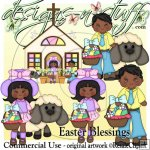 Easter Blessings African CU