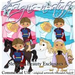 Sleeping Beauty Clipart Exclusives 5