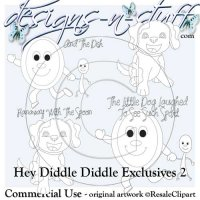 Hey Diddle Diddle Digital Stamps Exclusives 2