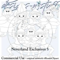 Neverlands Digital Stamps Exclusives 5