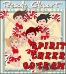 Cheerleader Girls Red CU