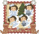 Holiday Fairies Brunette CU