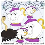 Beauty and The Beast Clipart Exclusives 2