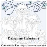 Dalmations Digital Stamps Exclusives 4