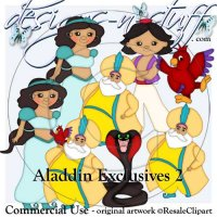Aladdin Clipart Exclusives 2
