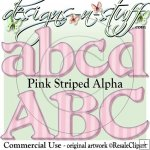 Pink Striped Alpha CU