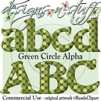Green Circle Alpha CU