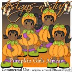 Pumpkin Girls African Resell