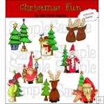 Christmas Whimsy Fun CU
