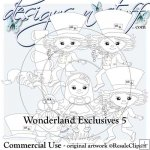 Wonderland Digital Stamps Exclusives 5