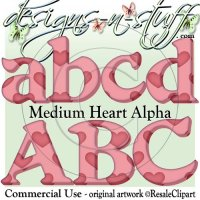 Medium Heart Alpha CU
