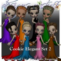 Cookie Poser Elegant Set 2 CU