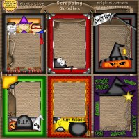 Halloween Picture Frames CU