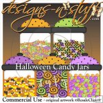 Halloween Candy Jars Resell
